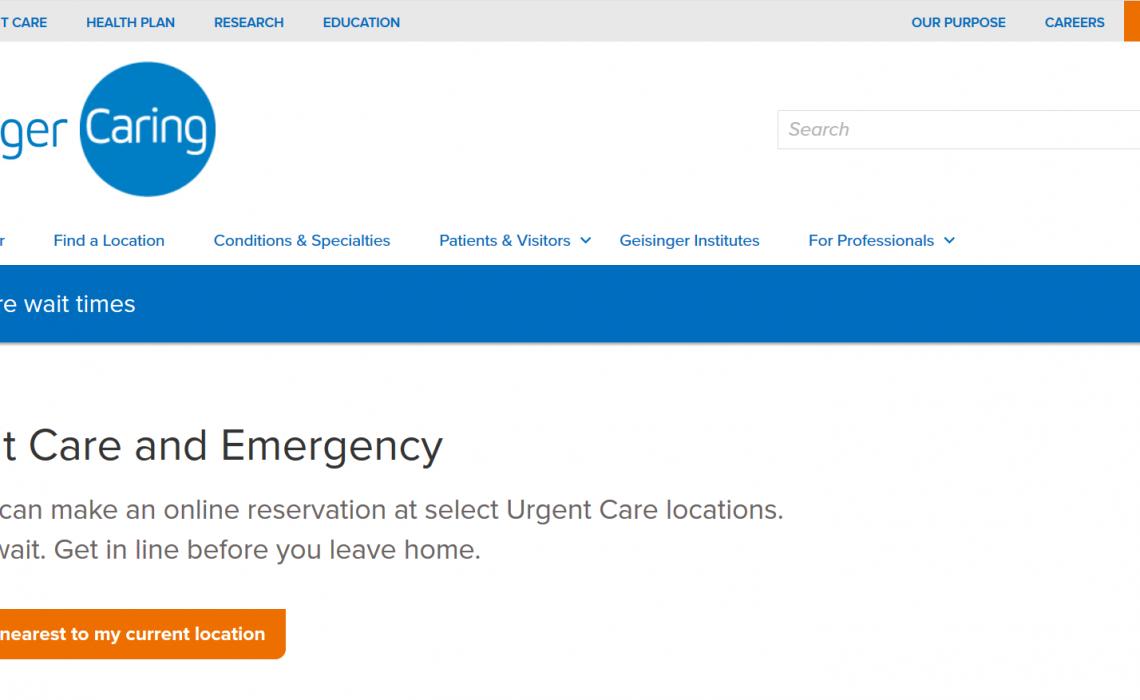 Une interface patient pour réguler les flux aux urgences